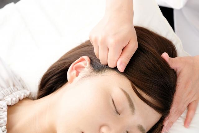 施術で頭痛の原因から改善します